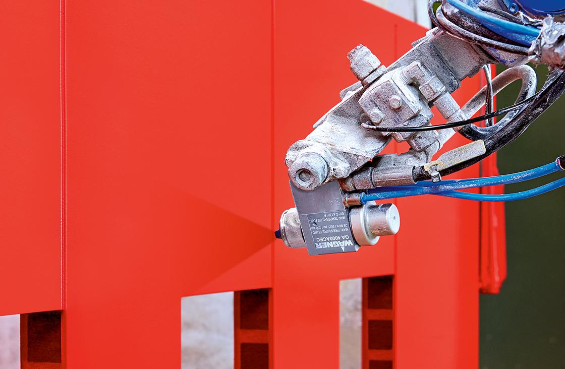 Hochwertiges, gleichmäßiges Ergebnis durch die industrielle Roboterlackierung