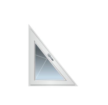 Drehfenster schräg