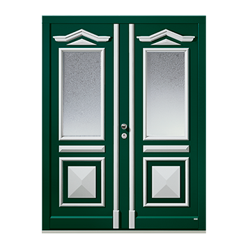 signum 7580, Außen aufgesetzte Formteile - innen aufgesetzte Formteile und Leistenrahmen, signum 7580 ist nur in Lack möglich.
