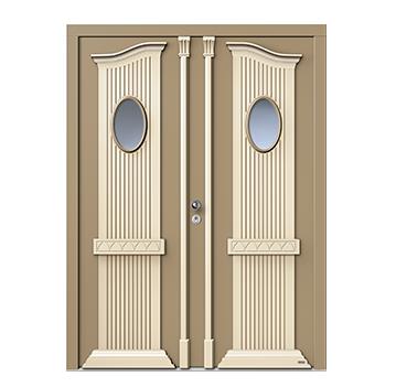 signum 7590, Außen aufgesetzte Formteile - innen Ziernuten (Sonderausstattung: Kopfstücke), signum 7590 ist nur in Lack möglich.