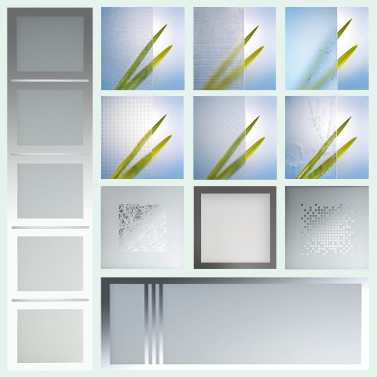 Design- und Ornamentgläser