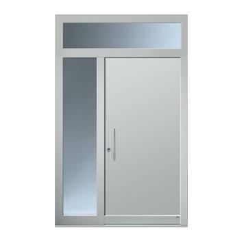 Haustüranlage mit Seitenteil und Oberlicht