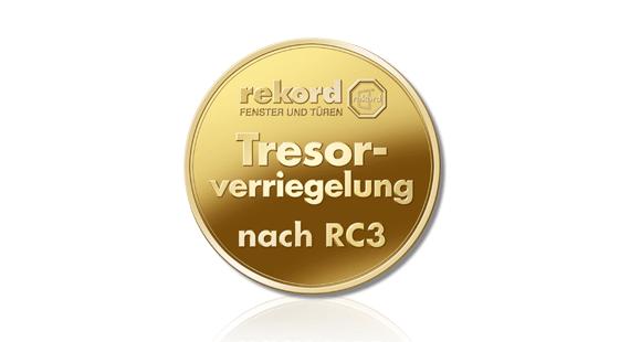 rekord Tresorverriegelung - Einbruchschutz-Beschlagstechnik nach RC3.