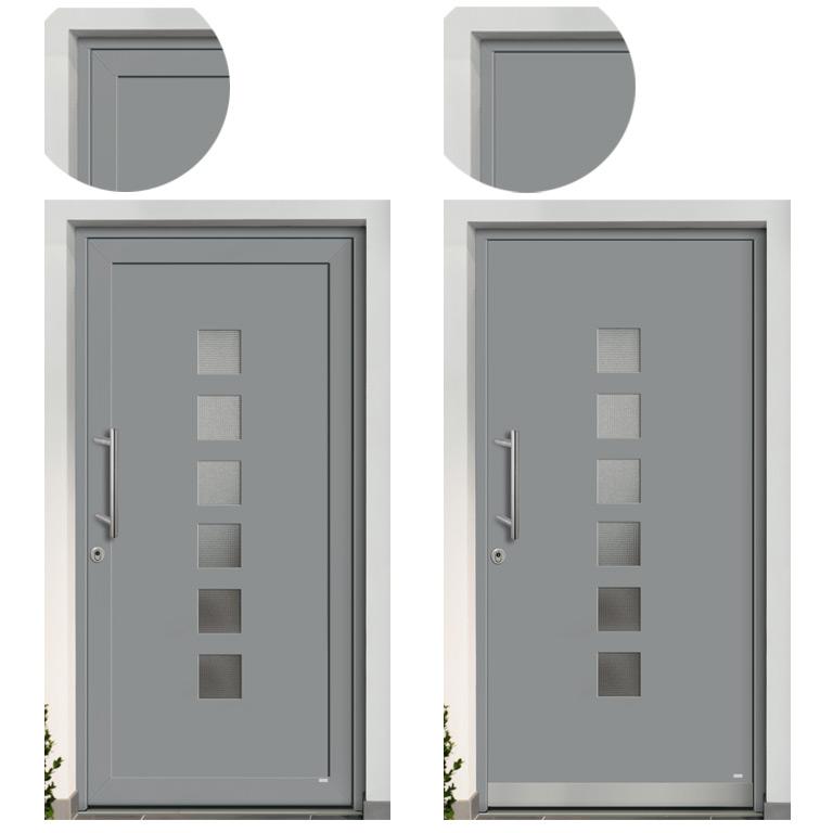 Beflügelnd für die Optik Ihrer Haustür
